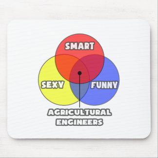 Diagramme de Venn Ingénieurs agricoles Tapis De Souris