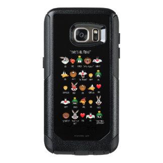 Diagramme LOONEY de TUNES™ Emoji Coque OtterBox Samsung Galaxy S7