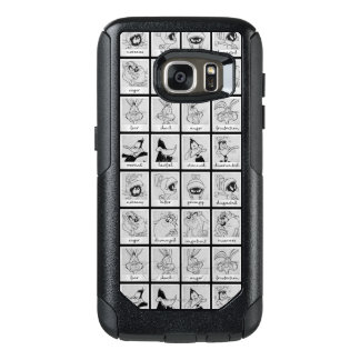 Diagramme LOONEY d'émotion de caractère de TUNES™ Coque OtterBox Samsung Galaxy S7