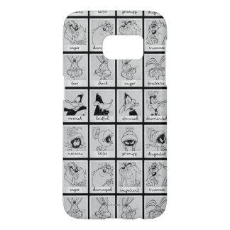 Diagramme LOONEY d'émotion de caractère de TUNES™ Coque Samsung Galaxy S7