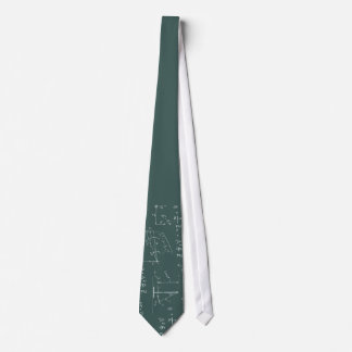 Diagrammes et formules de physique cravates