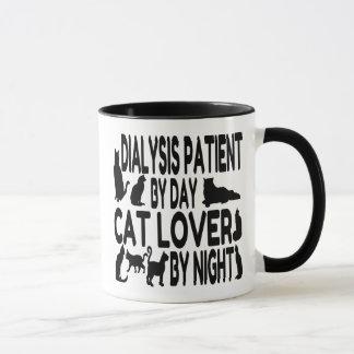 Dialysé d'amoureux des chats mug
