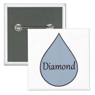 Diamant allaitant l'insigne de récompense. 2 ans badge