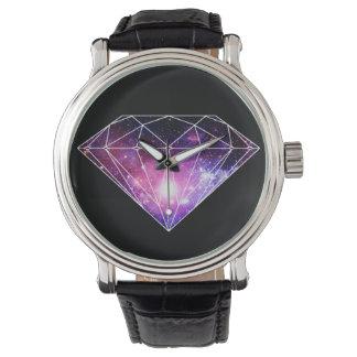 Diamant cosmique montres