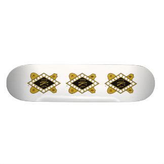 Diamant d'or de PKA Plateaux De Skateboards Customisés