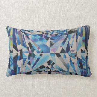 Diamant en verre coussin rectangle