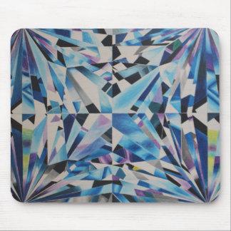 Diamant en verre Mousepad Tapis De Souris