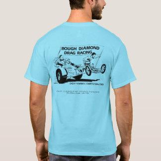 Diamant rugueux emballant la reproduction de t-shirt