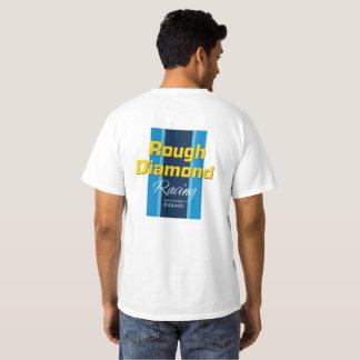 Diamant rugueux emballant le T-shirt - de base