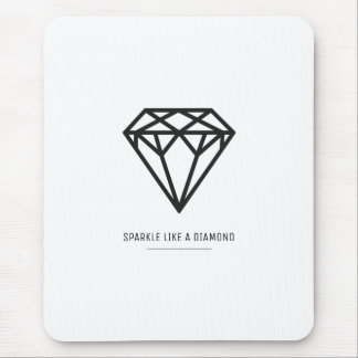 Diamant Tapis De Souris