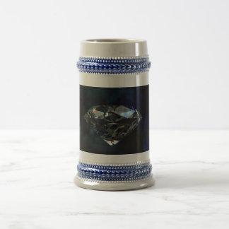 Diamant tasse grise/bleu 18 d'once Stein