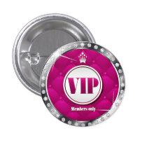 Diamant VIP de roses indien d'affaires ou de parti Badges
