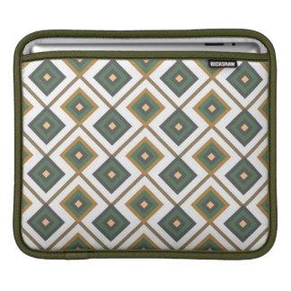 Diamante en vert poches iPad
