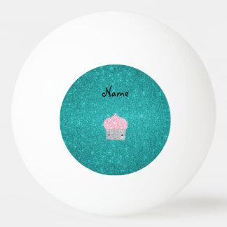 Diamants bling personnalisés de petit gâteau de balle de ping pong