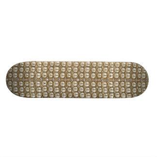 Diamants et perles de panneau de patin skateboards personnalisés