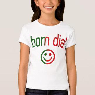Diamètre de Bom ! Couleurs de drapeau du Portugal T-shirt