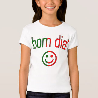 Diamètre de Bom ! Couleurs de drapeau du Portugal T-shirts