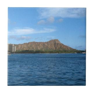 Diamondhead Oahu Hawaï Petit Carreau Carré