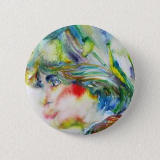 Diana, princesse du Pays de Galles - aquarelle Badge