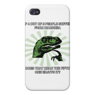 Diarrhée de Philosoraptor Coques iPhone 4