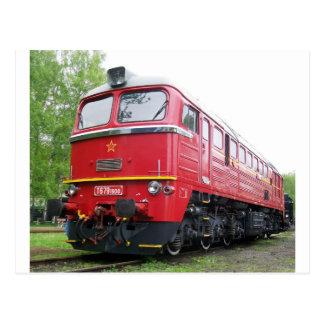 Diesel tchèque carte postale