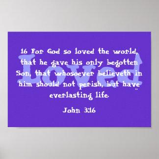 Dieu a ainsi aimé le monde posters