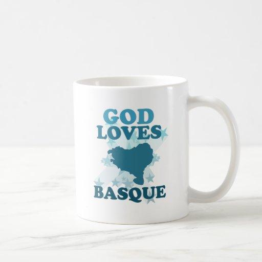 Dieu aime le basque mug à café