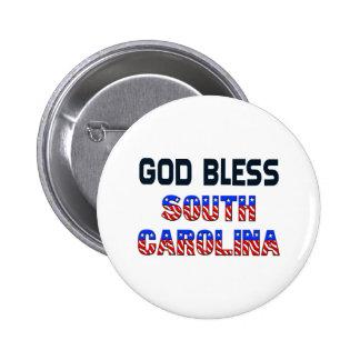Dieu bénissent la Caroline du Sud Badge