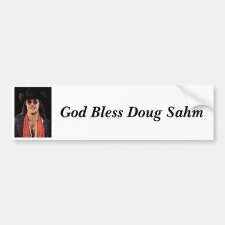 Dieu bénissent l'adhésif pour pare-chocs de Doug S Autocollant De Voiture