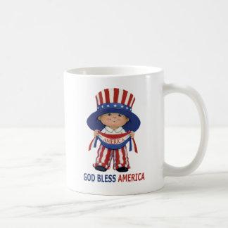 Dieu bénissent l'Amérique-Tasse Mug