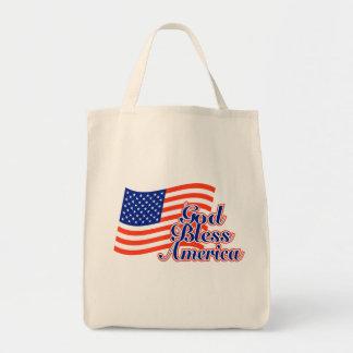 Dieu bénissent le sac fourre-tout de l'Amérique