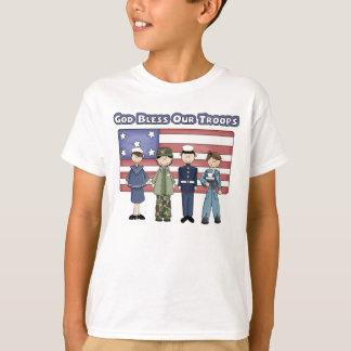 Dieu bénissent nos troupes - le T-shirt de