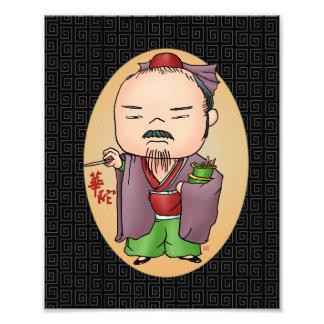 Dieu chinois mignon de santé photographes