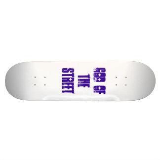 Dieu de la rue skateboard 19,7 cm
