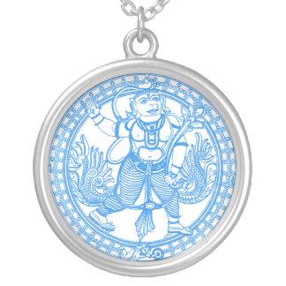 Dieu de singe de Hanuman Pendentif Rond
