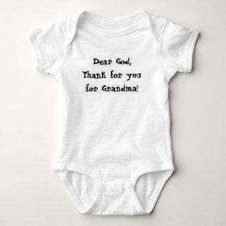 Dieu de T-shirt nouveau-né de bébé cher vous