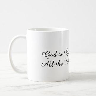 Dieu est bon - l'anglais/chinois traditionnel mug
