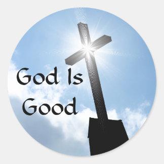 Dieu est de bons autocollants