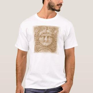 Dieu grec Hermes DÉCRIVENT l'image antique de T-shirt