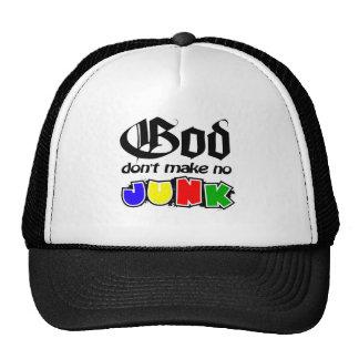 Dieu ne font aucune ordure casquettes