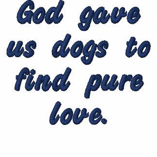 Dieu nous a donné des chiens pour trouver l'amour  polos