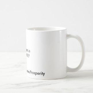 Dieu nous donne le W.H.I.P, richesse, santé, Mug