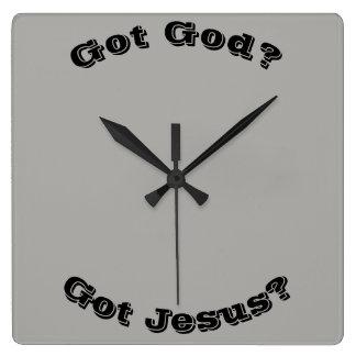 Dieu obtenu ? Jésus obtenu ? Horloge