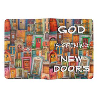 Dieu ouvre unique coloré de portes très grand carnet moleskine