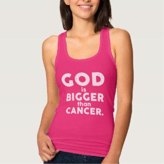 Dieu rose est plus grand que le T-shirt de Cancer