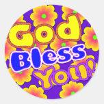 Dieu vous bénissent ! Autocollant