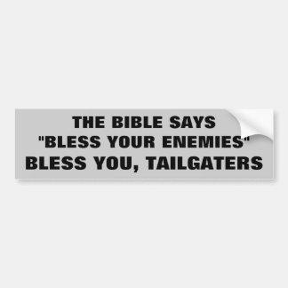 Dieu vous bénissent Tailgaters Autocollant De Voiture