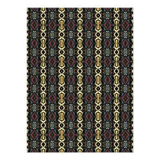 Digitals Art Imperial Pattern abstrait Invitations