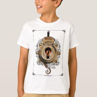 Digne serrure de Muggle avec la bête fantastique T-shirt