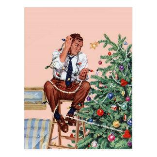 Dilemme de Noël Cartes Postales